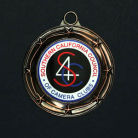 Bronze S4C medal - S4C-2014, USA After could shower